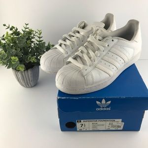Adidas Superstar Original Shoes Women's 9.5
